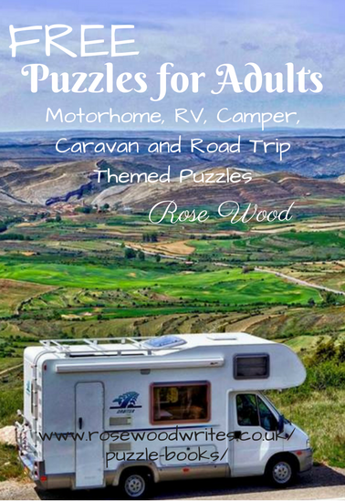 Free Motorhome Camper and Caravan Themed Puzzled Book